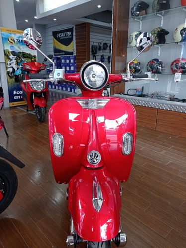 Vespa Vintage 3000w Bateria De Gel Moto Electrica Cuotas Y
