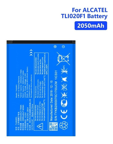 Bateria Pila Alcatel Tetra Ot5041c Tli020f1 Original