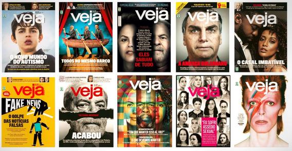 Revista Veja - Números Diversos - Veja Revista Editora Abril
