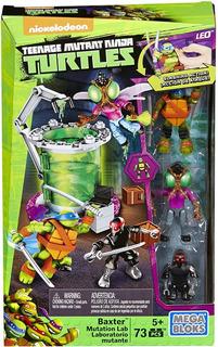 Teenage Mutant Ninja Turtle Mutation Lab Mega Bloks