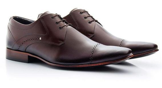 Sapato Social Atron Shoes 377 Mouro