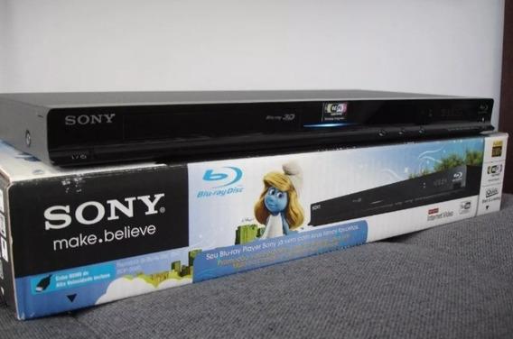 Blu Ray Player 3d Sony S-580 Wi Fi Integrado Top De Linha :)