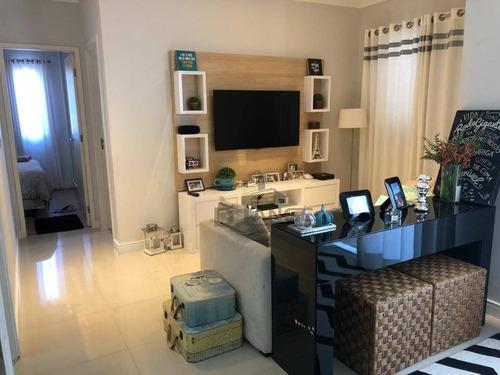 Imagem 1 de 22 de Apartamento Com 3 Dormitórios À Venda, 67 M² Por R$ 349.000,00 - Jardim Myrian Moreira Da Costa - Campinas/sp - Ap18945