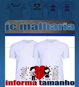 Camisa Personalizada 100% Poliste Para Casal