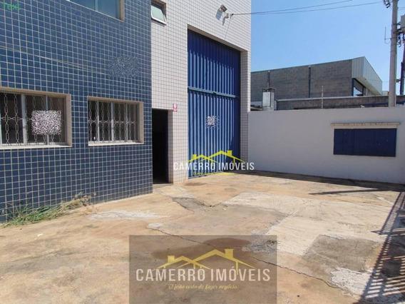 Salão Para Alugar, 704 M² Por R$ 6.000 - Cidade Industrial - Santa Bárbara D