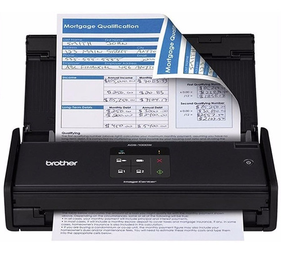 Scanner Brother Compacto 16ppm - Ads1000w
