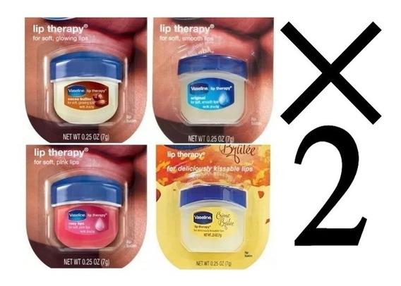 Vaseline Lip Therapy Vaselina + Maquillaje M & D .ij0610