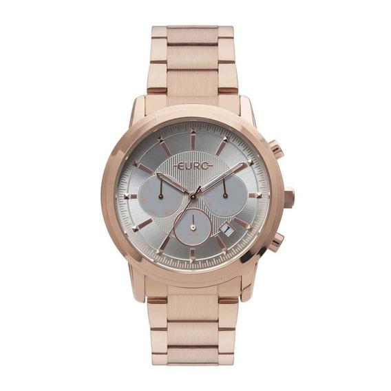 Relógio Feminino Multi Basics Pushers Rosé Euro Eujp25ab/4c