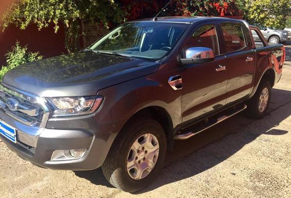 Ford Ranger 2016 Dc 4x2 Xlt Mt 3.2l Gris Mercurio