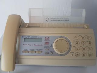 Aparelho De Fax Sharp Ux-p100 - Fax + Telefone + Copiadora