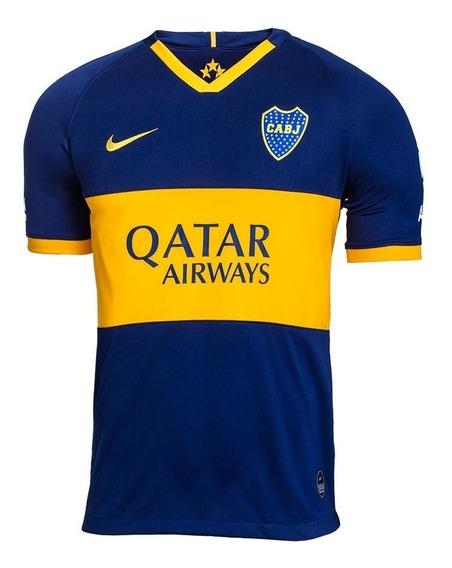 Camiseta Boca Nike 100% Original Versión Match + Ajustada