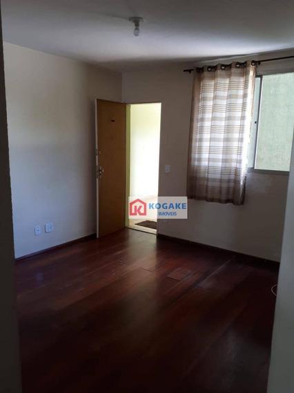 Apartamento Com 2 Dormitórios Para Alugar, 47 M² Por R$ 750,00/mês - Jardim Satélite - São José Dos Campos/sp - Ap6909