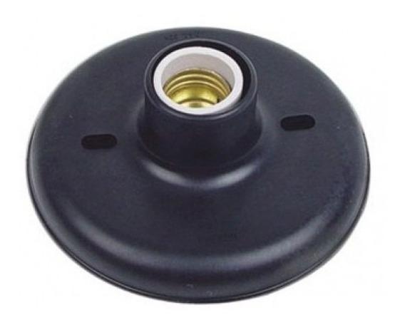 Kit 20 Plafonier Plafon C/soquete Porcelana E27 100w Preto
