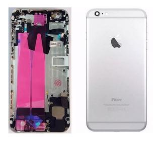 Carcaça iPhone 6 Plus Chassi Cinza + Brinde Promoção