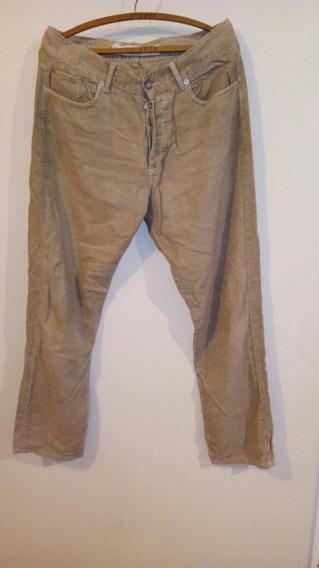Pantalon De Corderoy De Hombre Talle 42