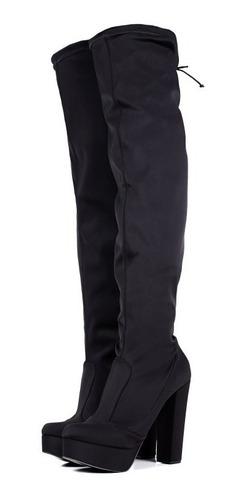 4eab916e0 Bota Feminina Over The Knee Cetim Stretch Tamanho 40/44 Lgbt - R$ 194,90 em  Mercado Livre