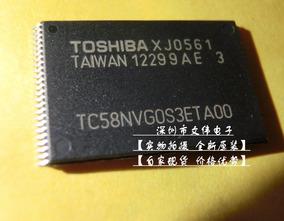 Nand Toshiba Tc58nvg0s3eta00 1gbit Virgem