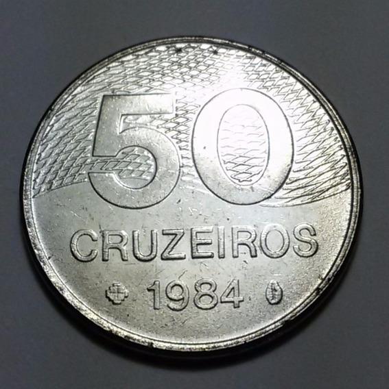 Moeda Brasileira 50 Cruzeiros 1984 R099