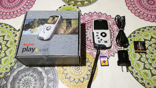 Video Camara Kodak Zx3 Sumergible En Impecable Estado