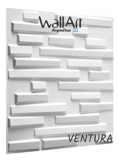 3m2 Placa 3d Decor. 50x50 Ventura Envio Gratis Sin Interes