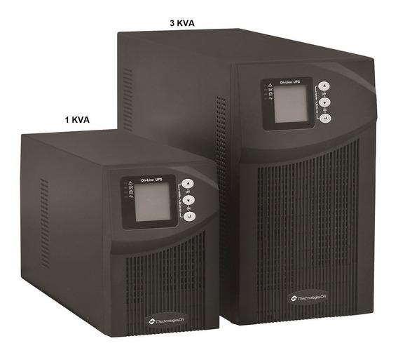 Ups Doble Conversion 3000va Online Sp2 3kva Bateria Externa