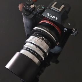 90mm F3.5 Meyer Telefogar + Anel Adapt. Sony Nex Mount