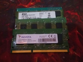 Memória Ram Notebook Ddr3 2gb