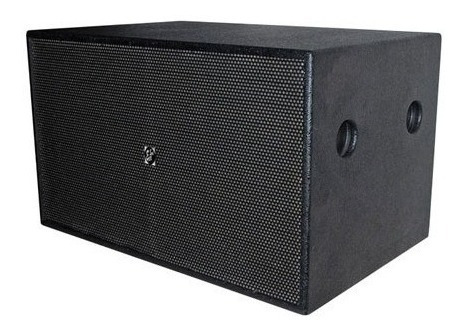 Caixa Acústica Eco Som Profissional Sub Grave Br1628 Passiva
