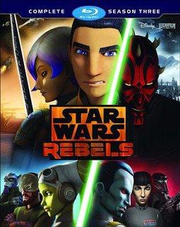 Blu-ray Star Wars Rebels Season 3 / Temporada 3