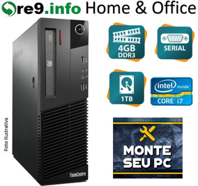 Pc Lenovo Thinkcentre M83 Sff Octa I7 3.9ghz 4gb 1tb K702
