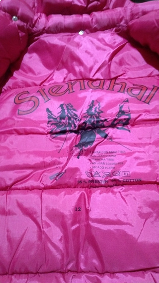 Campera Inflable Stendhal Talle 12 Color Rosa