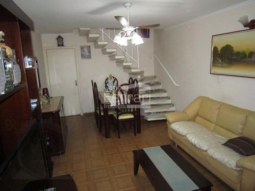 Sobrado Na Região De Vila Maria Baixa, Contendo 3 Dormitórios, 1 Vaga De Garagem E Terraço - Cf34134