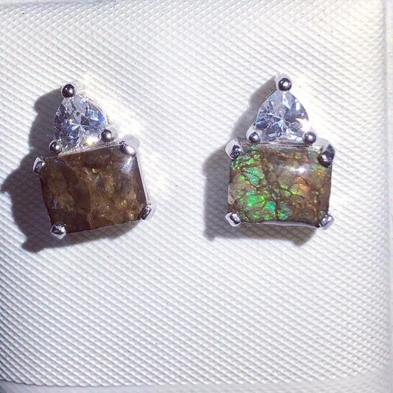 Set De Plata Piedra Amolita