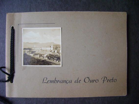 Lembrança De Ouro Preto / Mg - Album Com 10 Fotos, 1947(?)