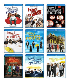Como Conoci A Tu Madre How I Met Your Mother T 1-9 Bluray Hd