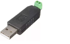 Mini Adaptador Serial Conversor Usb 2.0 P/ Rs485 2 Pinos