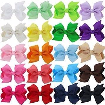 Moño Para Bebés Ribbon Con Clip