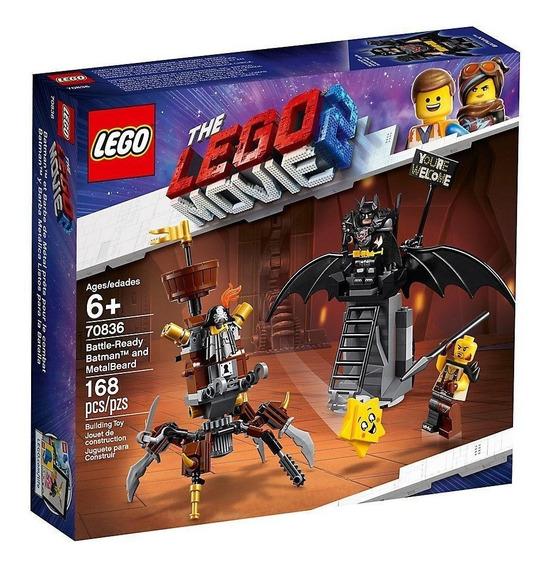 Lego Lego Movie 2 Batman Y Barbagris Preparados Lucha 70836