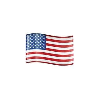 Imán De Signo De Coche De Bandera Americana