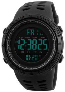 Fanmis Mens Digital Led Reloj Deportivo Militar Multifunc