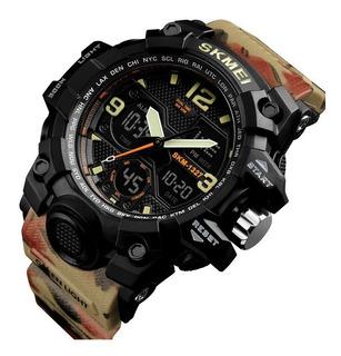 Reloj De Pulsera Skmei 1327 Analogico Y Digital Wr50m