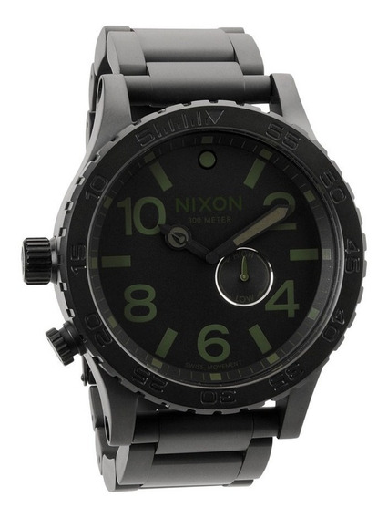 Reloj Nixon 51-30 Acero Inoxidable Negro A057-1042 Garantia