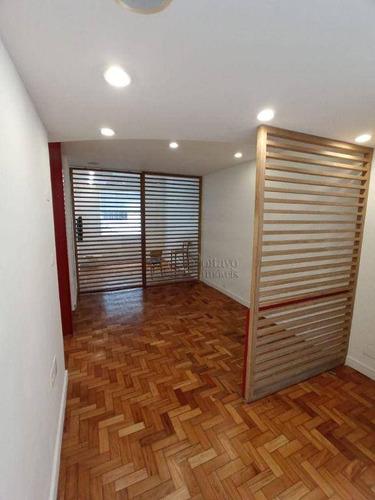 Imagem 1 de 11 de Apartamento Com 1 Dormitório À Venda, 43 M² Por R$ 895.000,00 - Ipanema - Rio De Janeiro/rj - Ap8706