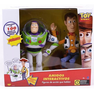 Buzz Lightyear Y Woody Original Hablan E/ Ellos Toy Story