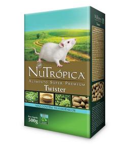 Nutrópica Twister Para Rato Branco De Laboratório E Mercol.