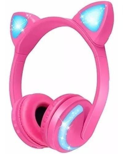 Headfone Bluetooth Orelha De Gato Exbom Hf-c240bt Led