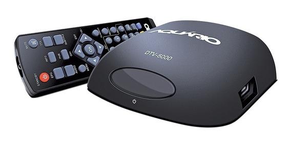 Kit Conversor Digital Completo Aquario Antena Interna
