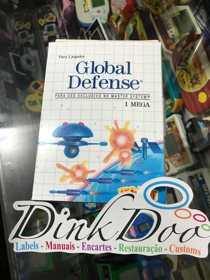 Caixa Global Defense Master System Repro