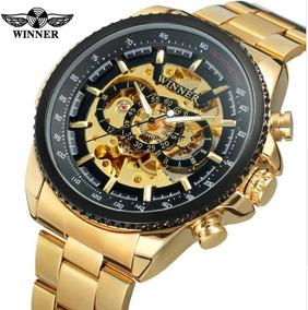 Relógio Masculino Winner Automático 100% Original Importado