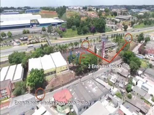 Imagem 1 de 8 de Ref  - 7381 Terreno Com 14.750 M² , Área Construída 5.676 Metros , Com 3 Galpões No Km 214 Da Rod.pres. Dutra ! - 7381